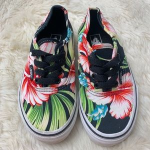 Vans Unisex Kids Tropical Sneakers, sz 12.0